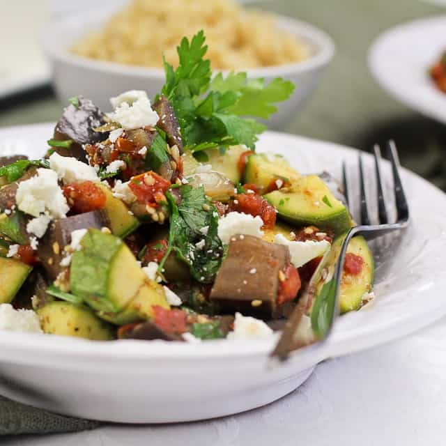 Quick Ratatouille, version 2.3.9 • The Healthy Foodie