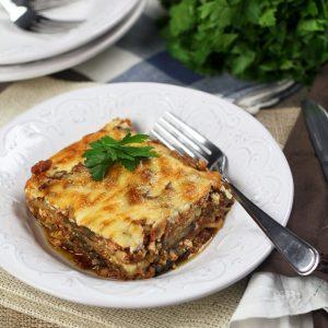 Vegetarian Moussaka
