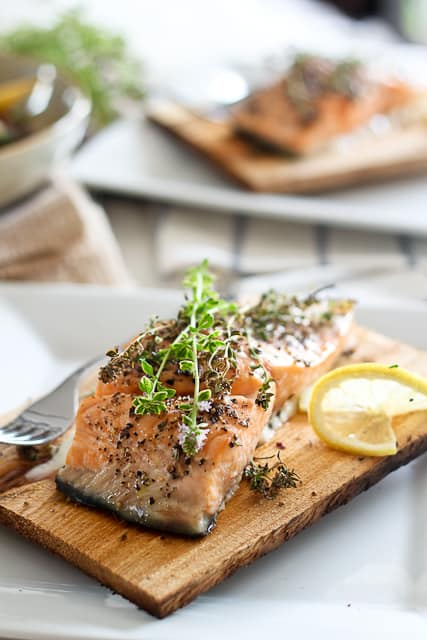 Cedar Plank Salmon | by Sonia! The Healthy Foodie