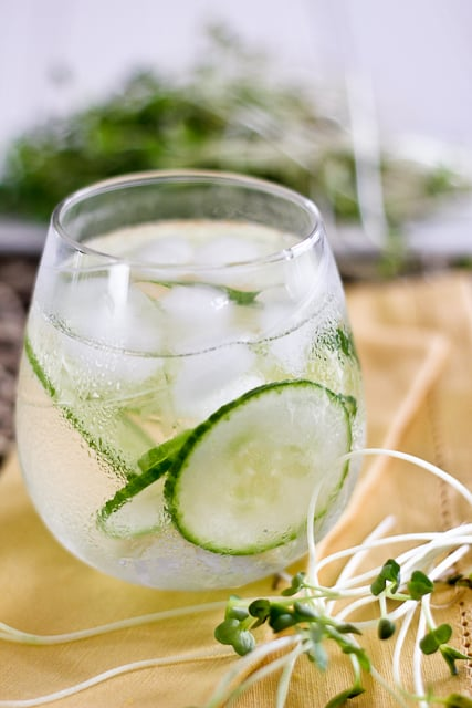 Refreshing Cucumber Water | by Sonia! The Healthy Foodie