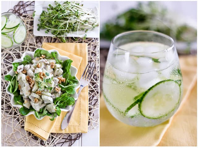Creamy Cucumber Walnut Salad | by Sonia! The Healthy Foodie