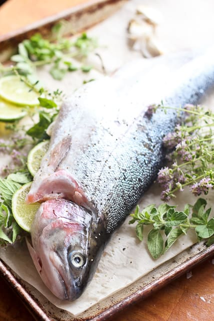 Fresh Whole Trout | by Sonia! The Healthy Foodie