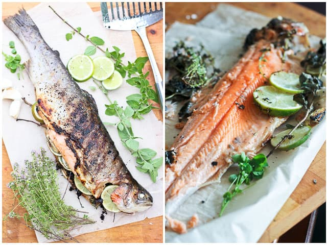 Grilled Whole Trout | by Sonia! The Healthy Foodie