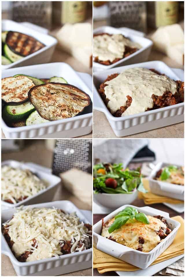 Grilled Eggplant Parmesan | by Sonia! The Healthy Foodie