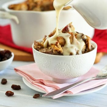 This Can't Be Healthy! Apple Cinnamon Bread Pudding