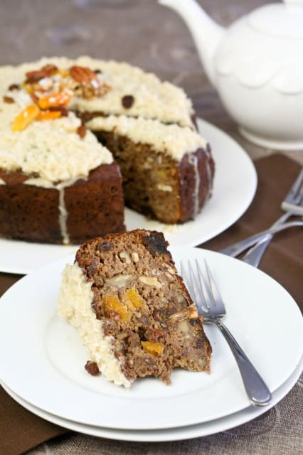Chestnut Fruit Cake | by Sonia! The Healthy Foodie