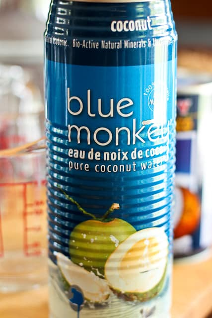 Blue Monkey Coconut Water