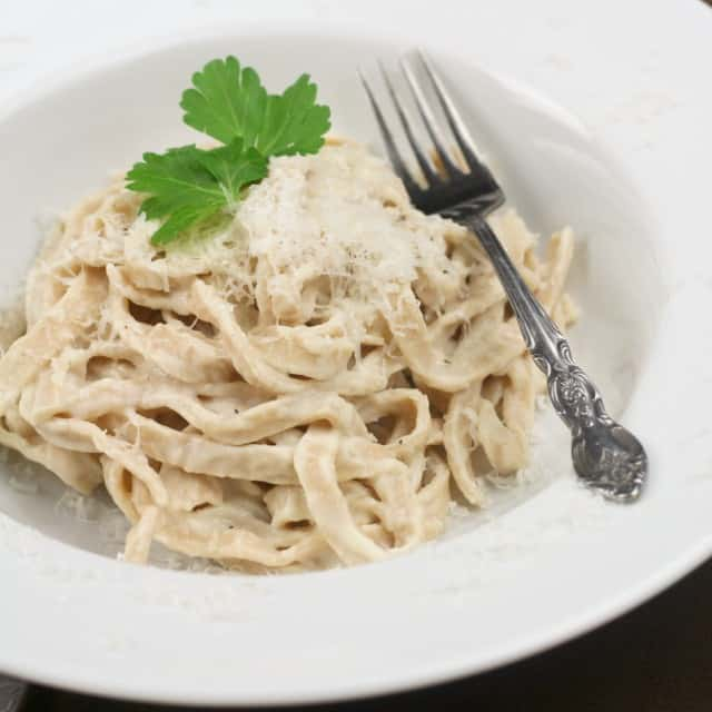 Fettuccini Alfredo | by Sonia! The Healthy Foodie