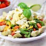 Green Bean Artichoke and Hard Boiled Eggs Salad | by Sonia! The Healthy Foodie