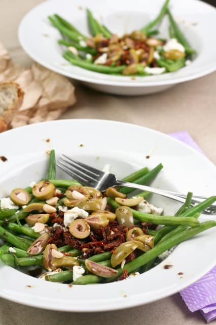 Green Beans Green Olives and Sundried Tomato Salad | by Sonia! The Healthy Foodie