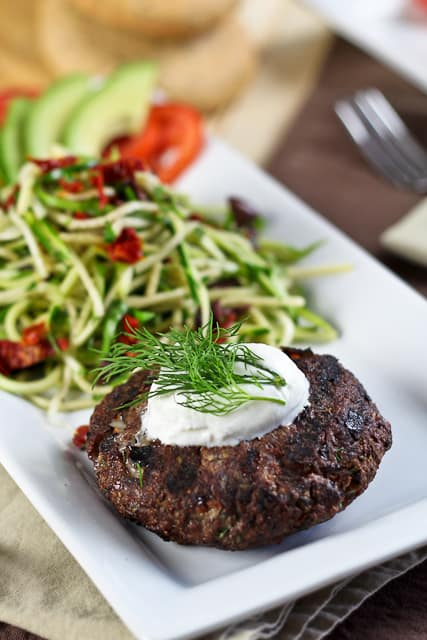 Venison Burger   by Sonia! The Healthy Foodie