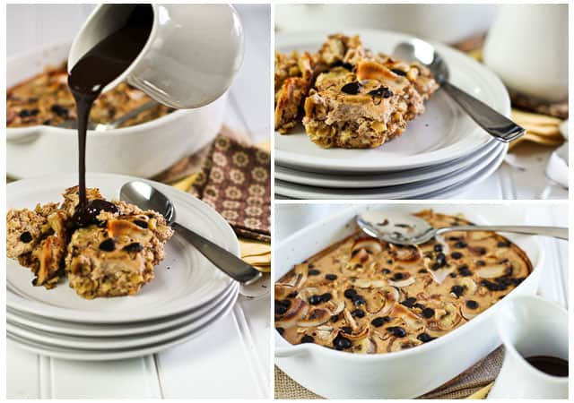 Banana Carob Baked Oatmeal | by Sonia! The Healthy Foodie