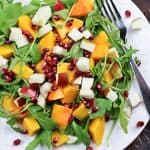 Butternut Squash and Apple Salad with High Protein Blue Cheese Dressing | by Sonia! The Healthy Foodie