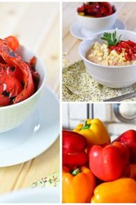 Roasted Bell Pepper and Raw Corn Chowder | by Sonia! The Healthy Foodie