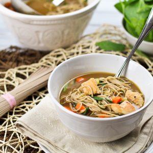 Turkey Soba Noodle Soup
