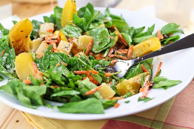 Acorn Squash and Rutabaga Salad | by Sonia! The Healthy Foodie