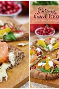 Citrus Chicken and Goat Cheese Pizza | by Sonia! The Healthy Foodie