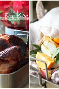 Roasted Turkey in Light Orange Apple Brine by Sonia|! The Healthy Foodie