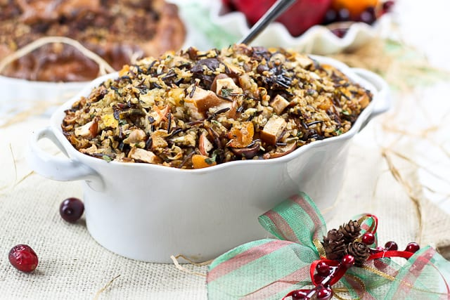 Wild Rice Turkey Stuffing-8