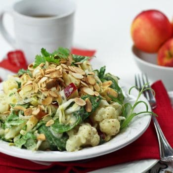 Cauliflower Endive and Apple Salad