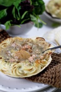 Overloaded Coquille St-Jacques | by Sonia! The Healthy Foodie