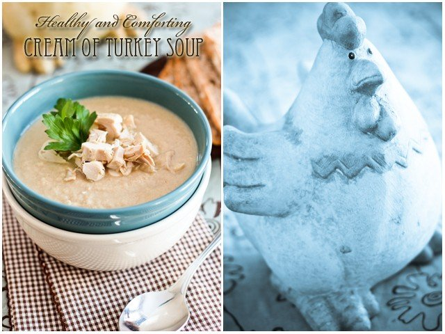 Cream of Turkey Soup | by Sonia! The Healthy Foodie