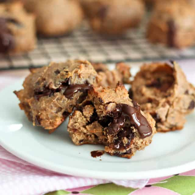 Grain Free Hazelnut Butter Chocolate Chunks Cookies | by Sonia! The Healthy Foodie