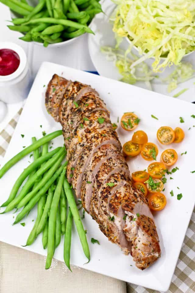Orange Rosemary Pork Tenderloin | by Sonia! The Healthy Foodie