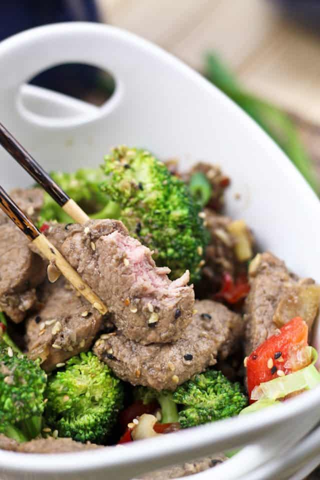 Sauteed Pork Tenderloin with an Asian Flare   by Sonia! The Healthy Foodie