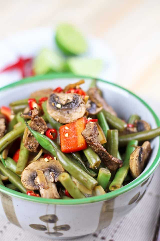 Beef and Green Beans Instant Stirfry | by Sonia! The Healthy Foodie