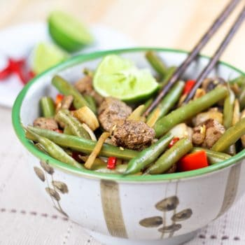 Beef and Green Beans Instant… Stirfry?