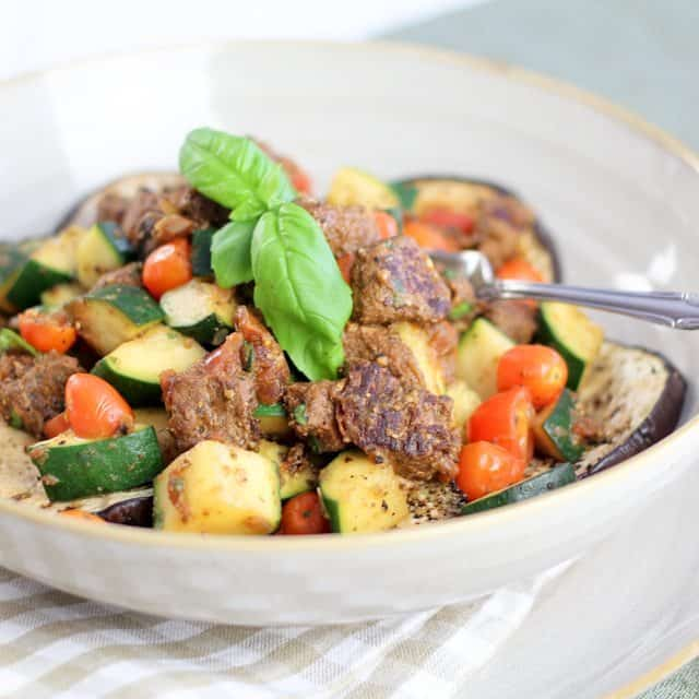 The Meat Lover's Ratatouille • The Healthy Foodie