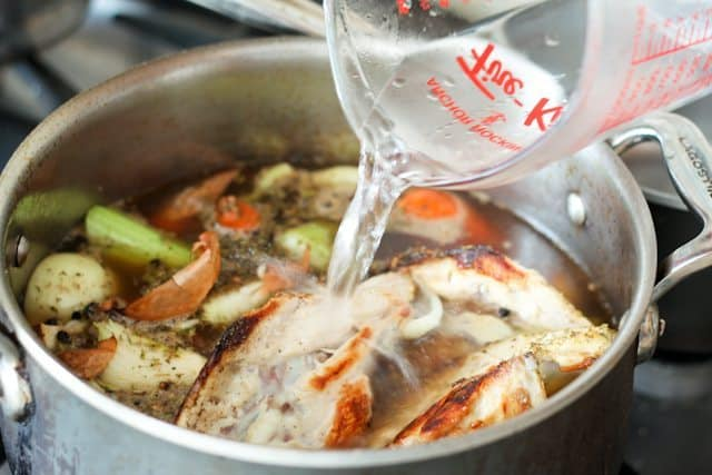 Make your own Low Fat Chicken Stock | by Sonia ! The Healthy Foodie