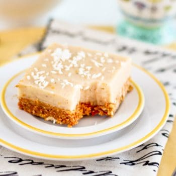 Meyer Lemon Squares or The story of a healthy dessert that almost never was…