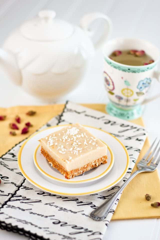 Healthy Meyer Lemon Squares   by Sonia! The Healthy Foodie