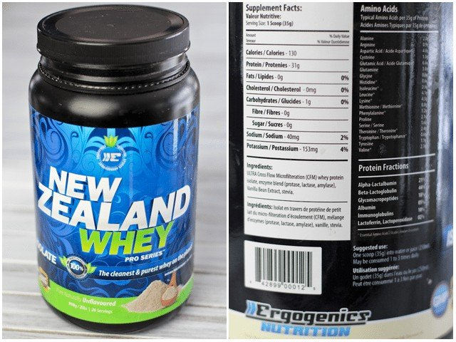 New Zealand Whey Pro Series by Ergogenics Nutrition