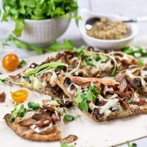 "Quick and Easy ""Philly"" Cheese Steak Pizza"