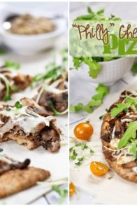 Quick and Easy Philly Cheese Steak Pizza | by Sonia! The Healthy Foodie