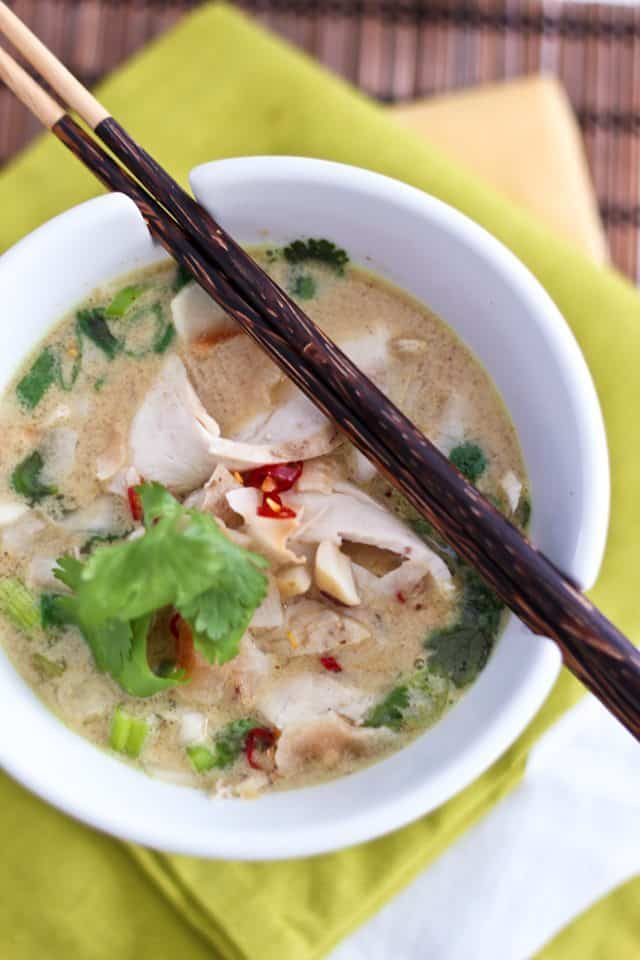 Cari Coco Chicken Soup | by Sonia! The Healthy Foodie