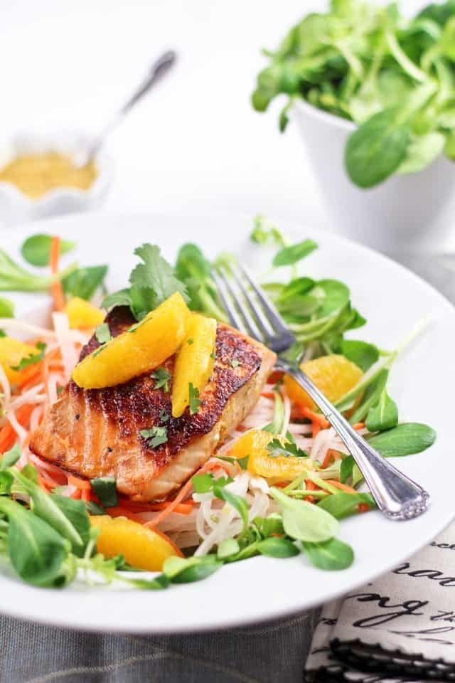 Orange Ginger Salmon Fillet | by Sonia! The Healthy Foodie