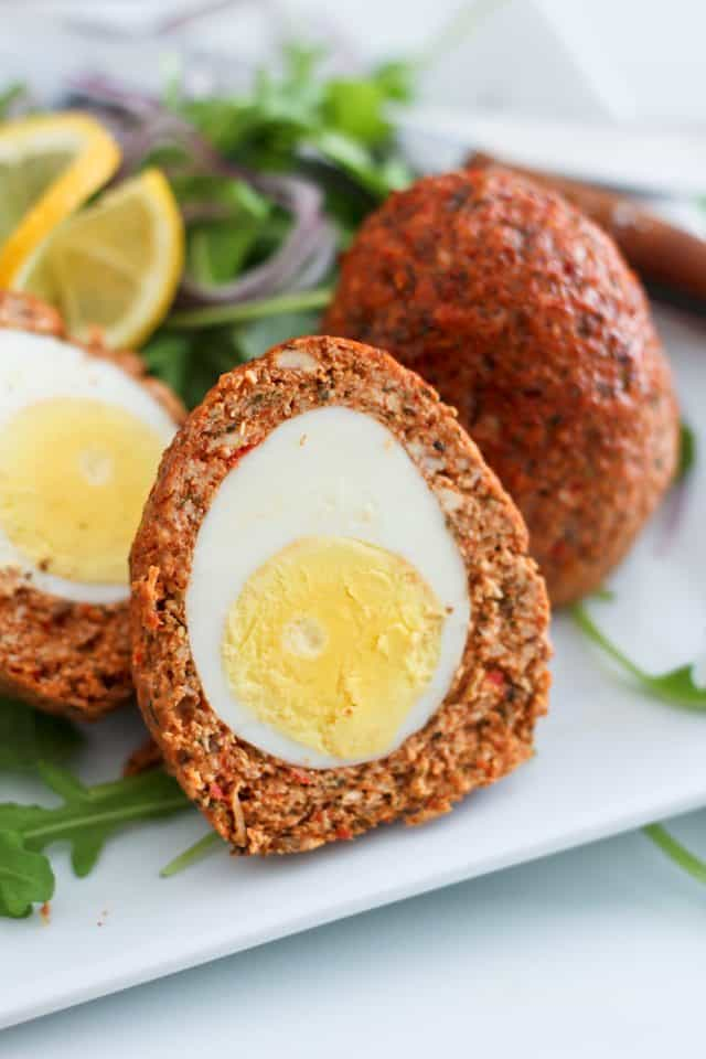 Chicken Scotch Eggs | by Sonia! The Healthy Foodie