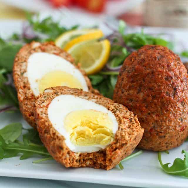Paleo Chicken Scotch Eggs