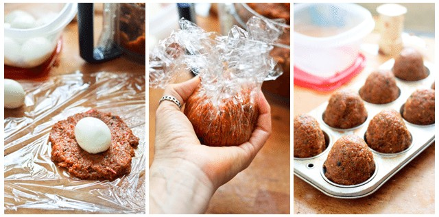 Scotch Eggs In the Making | by Sonia! The Healthy Foodie