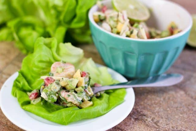Shrimp Coconut Lettuce Thingies   by Sonia! The Healthy Foodie