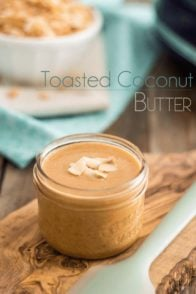 Toasted Coconut Butter | www.thehealthyfoodie.com