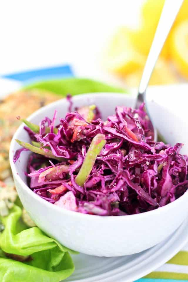 Quick Coleslaw | by Sonia! The Healthy Foodie
