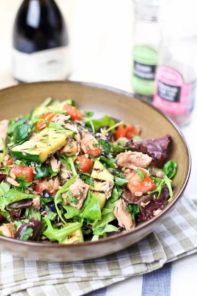 Quick And Healthy Tuna Fish Salad