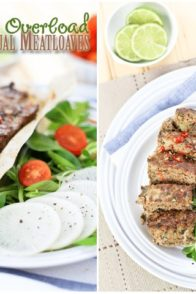 Vegetable Overload Individual Meatloaves   by Sonia! The Healthy Foodie