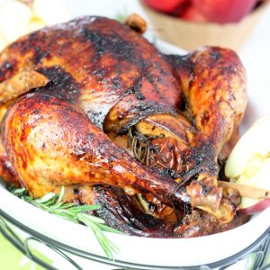 Apple Maple Glazed Turkey | by Sonia! The Healthy Foodie