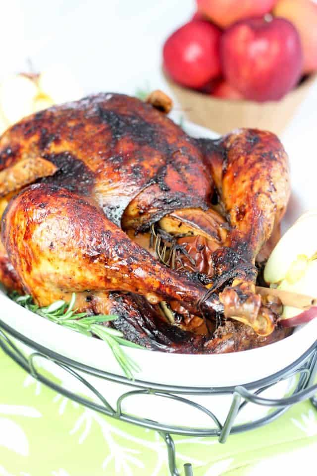 Apple Maple Glazed Turkey | by Sonia! The Healthy Foodie
